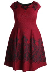 Studio 8 Annalise Cocktail Dress Party Dress Red Dark Red