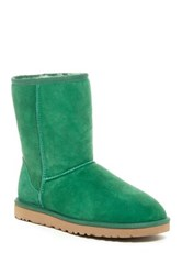 Ugg Classic Short Genuine Sheepskin Lined Boot Green