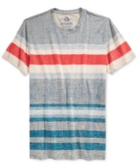 American Rag Men's Textured Striped T Shirt Only At Macy's Crater Lake