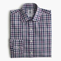 Cordingstm For J.Crew Shirt In Aubergine Check