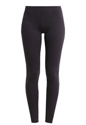 Zalando Essentials Leggings Dark Grey Mottled Dark Grey