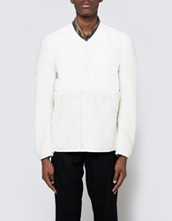 Adidas X Wings Horns Sherpa Jacket In Off White