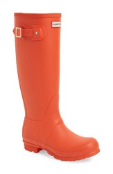 Women's Hunter 'Original Tall' Rain Boot Tent Red