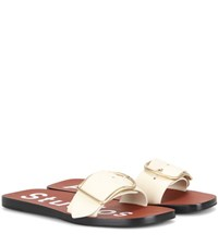 Acne Studios Odet Leather Sandals White