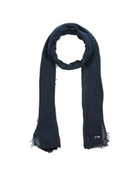 Armani Jeans Accessories Oblong Scarves Men Dark Blue
