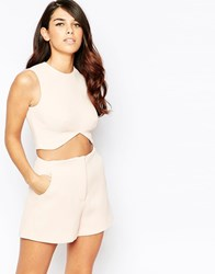Finders Keepers Take A Chance Cropped Top Pink
