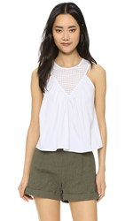 Milly Illusion Combo Top White