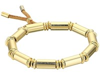 French Connection Tube Stretch Bracelet Gold Bracelet