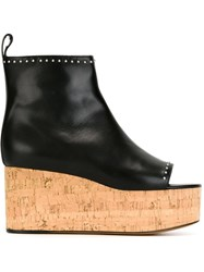 Givenchy Platform Booties Black