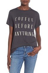 Women's Daydreamer 'Coffee Before Anything' Graphic Tee