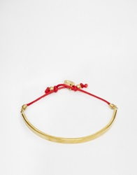 Made Cord Bracelet Red
