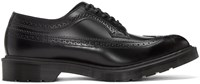 Dr. Martens Black Made In England 3989 Boanil Brush Brogues
