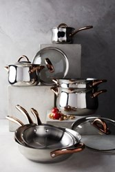 Anthropologie Copper Handled Cookware Set