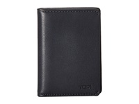 Tumi Chambers Gusseted Card Case Navy Credit Card Wallet