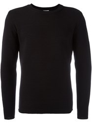 S.N.S. Herning 'Manual' Crew Neck Jumper Black
