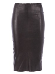Stouls 'Follow Me' Pencil Skirt Black