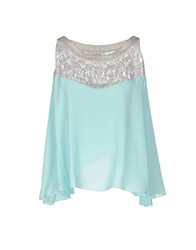 Axara Paris Topwear Tops Women Sky Blue