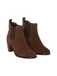 White Stuff Helen Heeled Chelsea Boot Brown