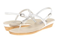Onex Cabo White Leather Women's Dress Sandals