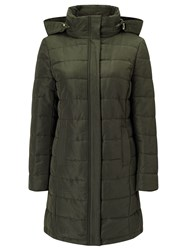 Eastex Longerline Padded Coat Green