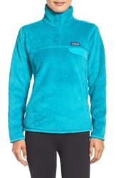Patagonia Women's 'Re Tool' Snap Pullover Epic Blue Epic Blue X Dye