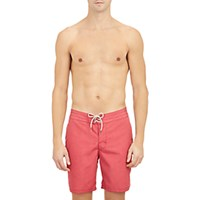 Faherty Men's Board Shorts Red
