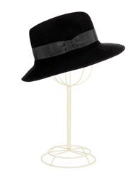 Eric Javits Wool Bucket Hat Black