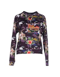 Leitmotiv Topwear Sweatshirts Women Purple