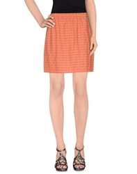 Douuod Skirts Mini Skirts Women Coral