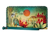 Anuschka 1134 Rousseau S Jungle Handbags Green
