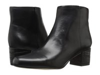 Sam Edelman Edith Black Modena Calf Leather Women's Zip Boots