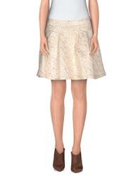 Only Mini Skirts Ivory