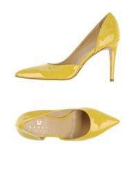 Space Style Concept Footwear Courts Women Yellow
