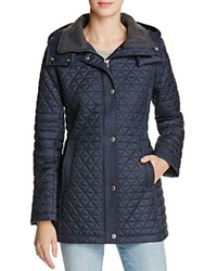 Marc New York Alexa Quilted Jacket Navy