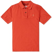 C.P. Company Patch Logo Polo Red