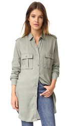 Rails Lennon Button Down Shirt Sage
