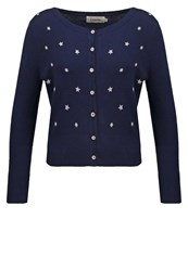 Louche Aquilia Cardigan Navy Dark Blue