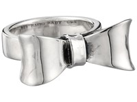 King Baby Studio Small Bow Ring Silver Ring
