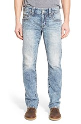 Men's Rock Revival 'Auster' Straight Leg Jeans Acid Blue