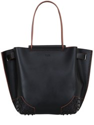 Tod's Wave Leather Tote Bag