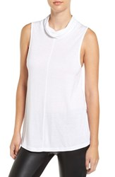 Cupcakes And Cashmere Women's 'Dustin' Sleeveless Cowl Neck Top Dirty White