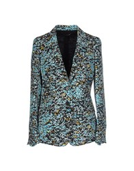 Adele Fado Suits And Jackets Blazers Women Turquoise