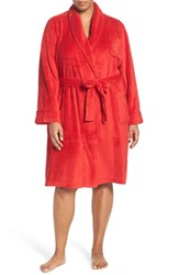 Lauren Ralph Lauren Plus Size Women's Short Robe