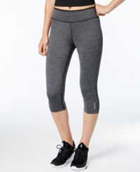 Reebok Reversible Speedwick Capri Leggings Black