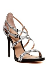 L.A.M.B. Oberlin Strappy Stiletto Black
