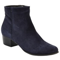 John Lewis Albany Ankle Boots Navy