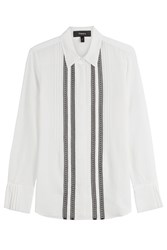 Theory Silk Blouse White