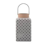 Bloomingville Ceramic Lantern Grey