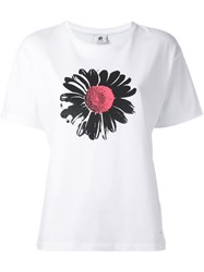 Paul Smith Ps By Flower Print T Shirt