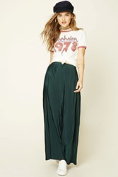 Forever 21 Accordion Pleated Maxi Skirt